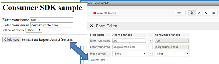 Assist Form Editor, WebViews & Native Android Widgets